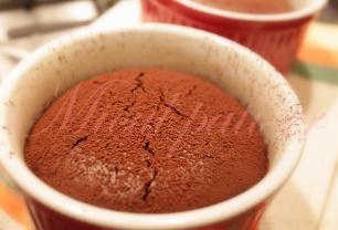 Sufleuri cu ciocolata
