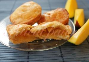 Tarte cu mango si nuca de cocos (Mini-tourtes à la mangue et à la noix de coco)