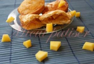Tarte cu mango si nuca de cocos