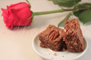 Negrese cu nuci pecan (Brownies aux noix de pécan)