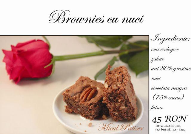 Brownie cu nuci