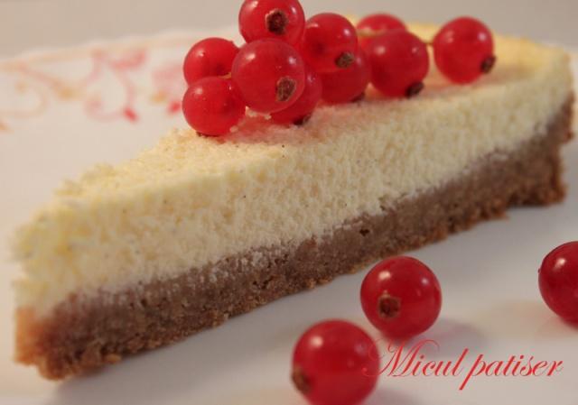 Cheesecake cu vanilie