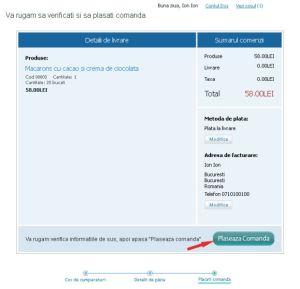 Comenzi prajituri online - screen9