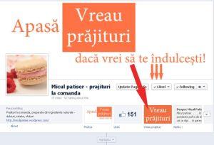 Comenzi prajituri online - screen2