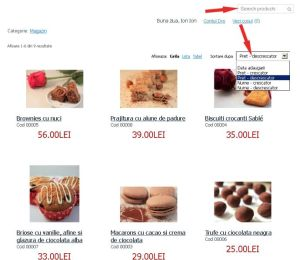 Comenzi prajituri online - screen3