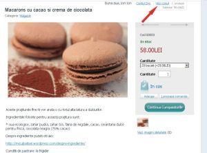 Comenzi prajituri online - screen6