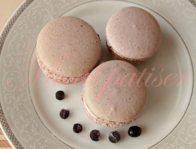 Macarons si colorantii naturali - Episodul 2 - Mov/Lila