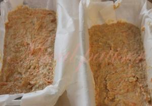 Prajitura cu morcovi si crema de branza