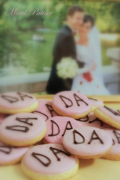 Biscuiti personalizati nunta