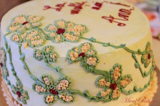 Tort aniversar pentru gemene - 1 an