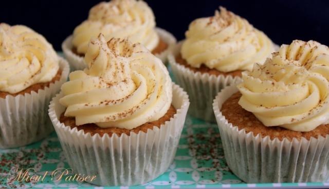 Cupcakes Tiramisù cu crema de mascarpone