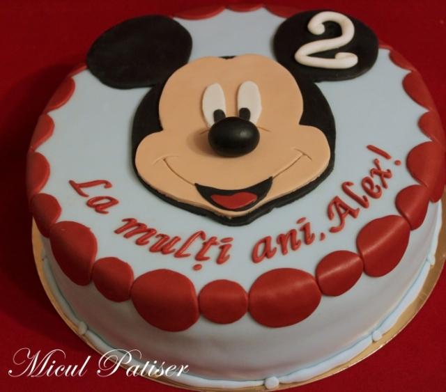 Tort cu Mickey Mouse pentru Alex