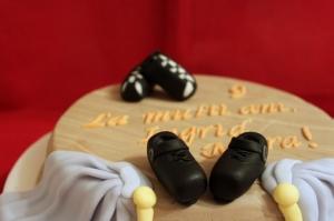 Tort scena si pantofi de dans irlandez pentru Ingrid Mara