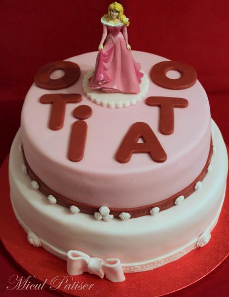 Tort printesa Aurora pentru Oti si Ota