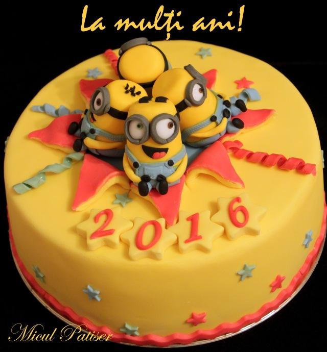 Tort minion - La multi ani 2016