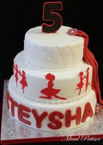 Tort aniversar SteySha 5 ani
