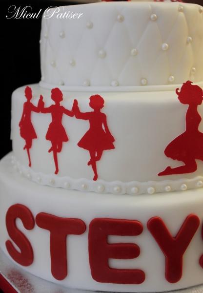 Tort aniversar STEYsha - 5 ani
