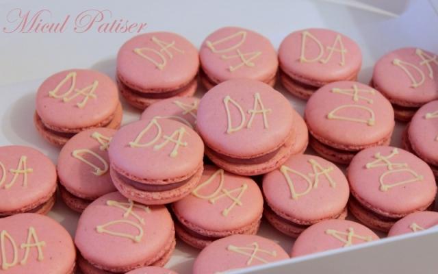 Macarons personalizate pentru cununie