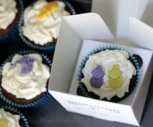 Cupcakes marturii botez