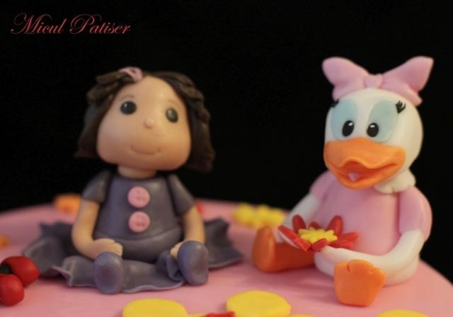 Tort cu Minnie si Daisy pentru Thea
