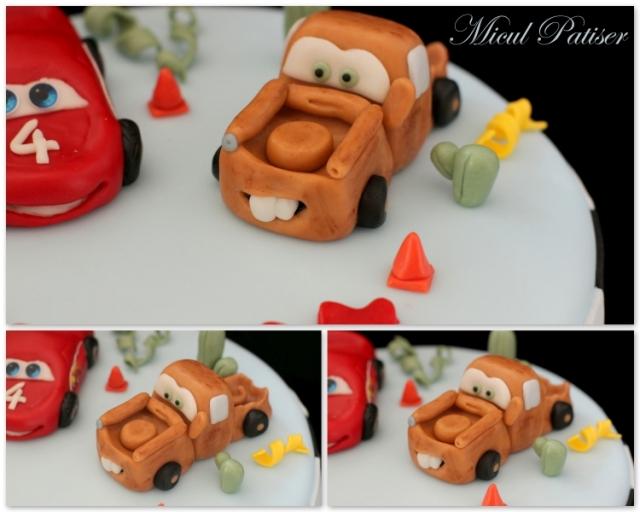 Tort cu Fulger McQueen si Bucsa Cars