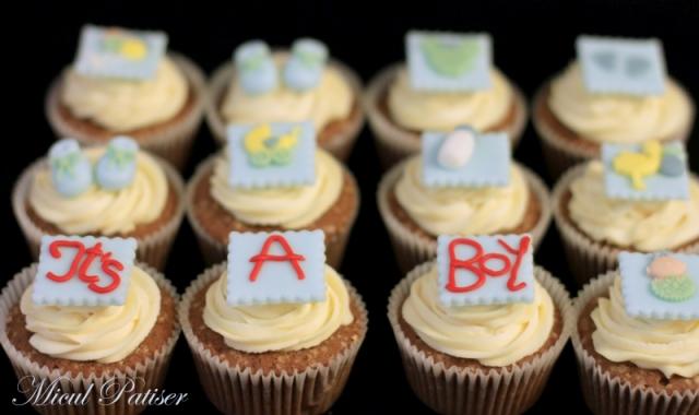 Cupcakes personalizate bebe
