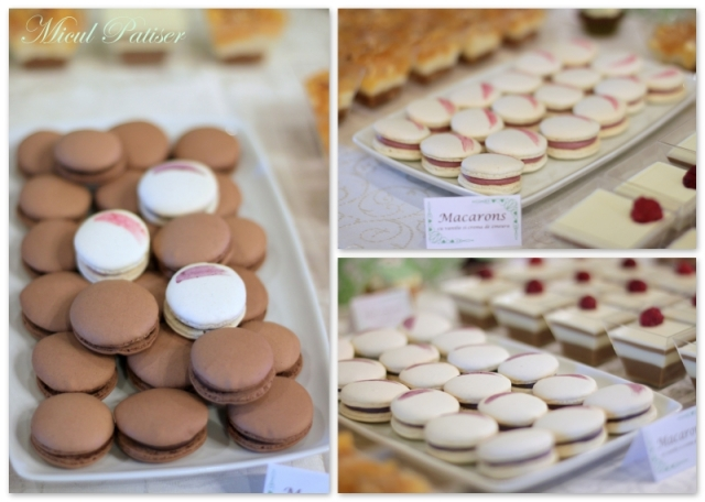 Macarons candy bar nunta Micul Patiser