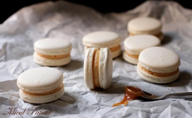 Macarons caramel sarat