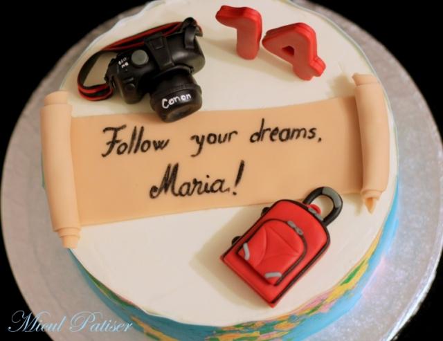 Tort pentru Maria - vise, calatorii si fotografii