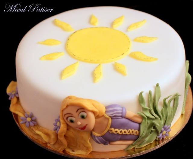 Tort cu tema Tangled - Rapunzel