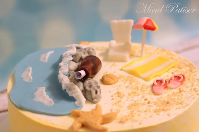 Tort - vis de vara in plina iarna - pentru Nadia