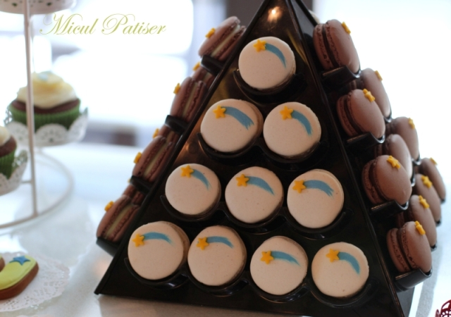 Macarons candy bar botez - Micul Patiser