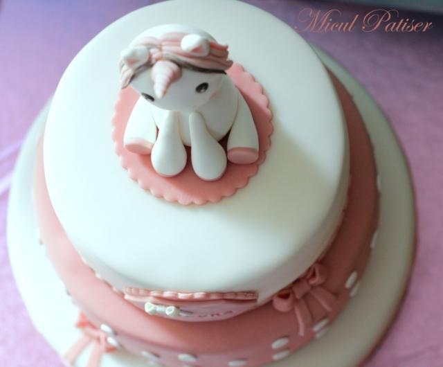 Tort botez unicorn