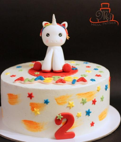 Tort aniversar Bucuresti unicorn fetita