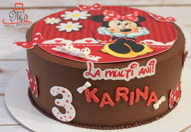 Tort poza Minnie
