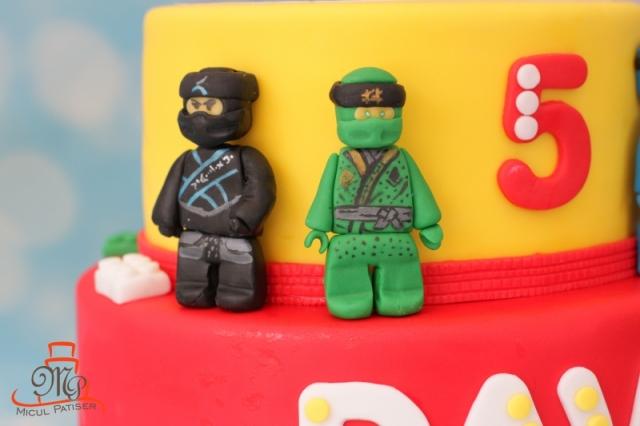 Tort personalizat Lego Ninjago