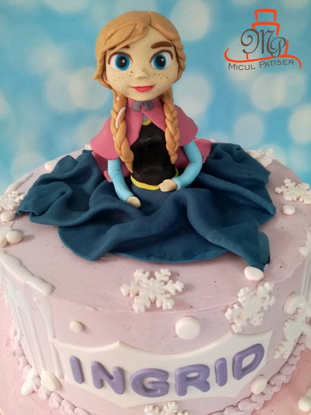 Tort fetite Frozen Anna