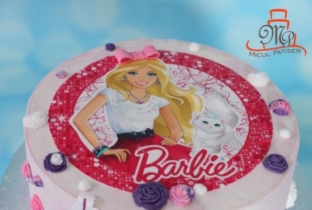 Tort fetita Barbie