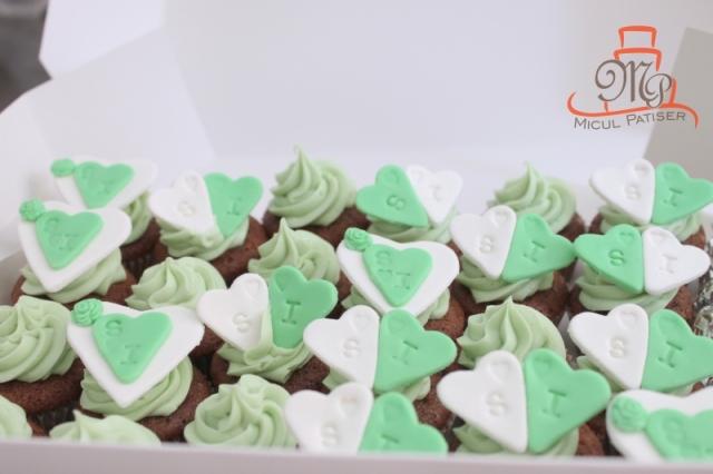 Cupcakes nunta