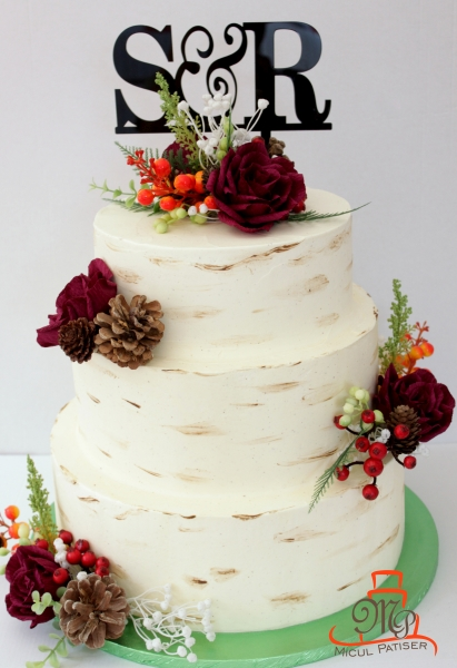 Tort nunta flori Bucuresti